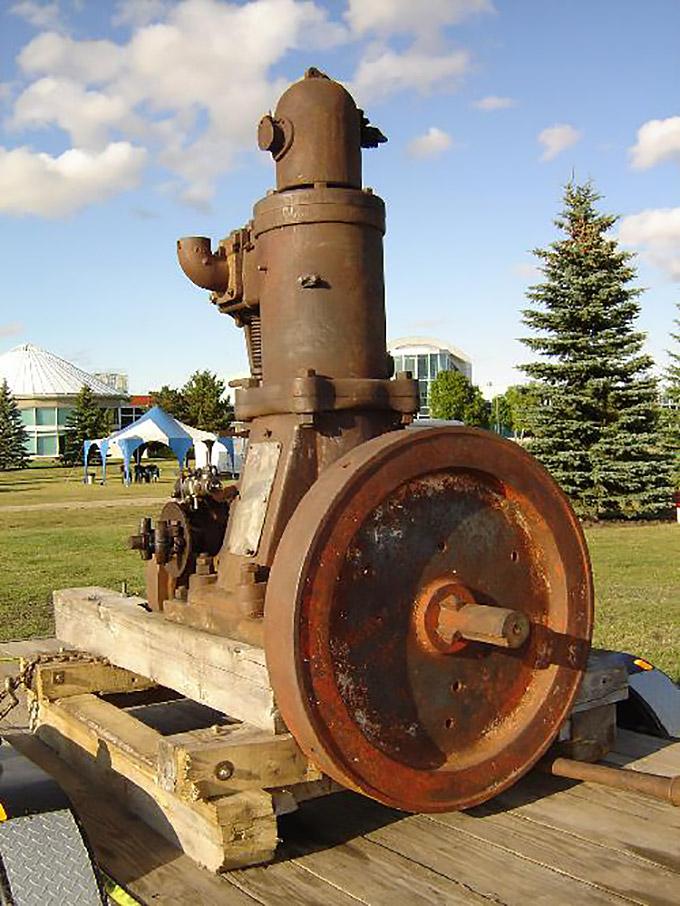 The Golden Diesel Marine Engine